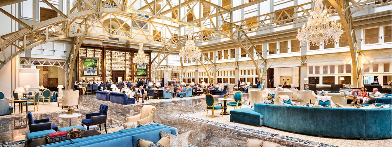 Grand Lobby and Benjamin Bar