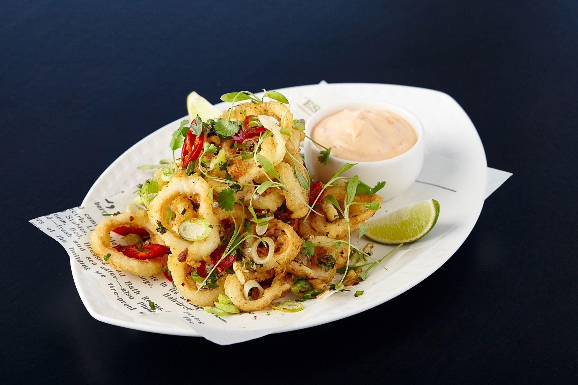 Tempura Squid Appetizer