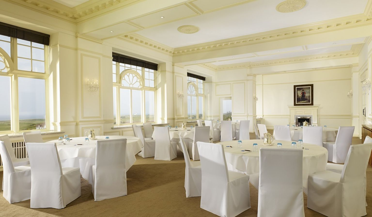 Ailsa Craig Event Room with Breakout Tables for Meeting