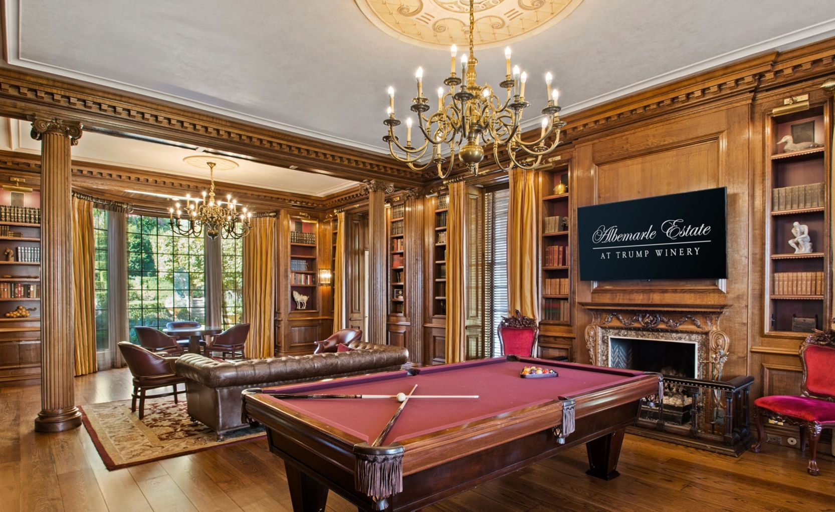 Billiards at Albemarle Estate