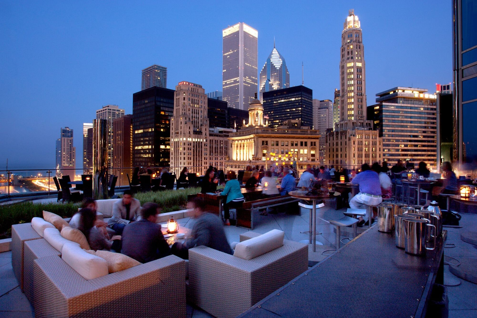 Terrace 16 Rooftop Restaurant in Chicago