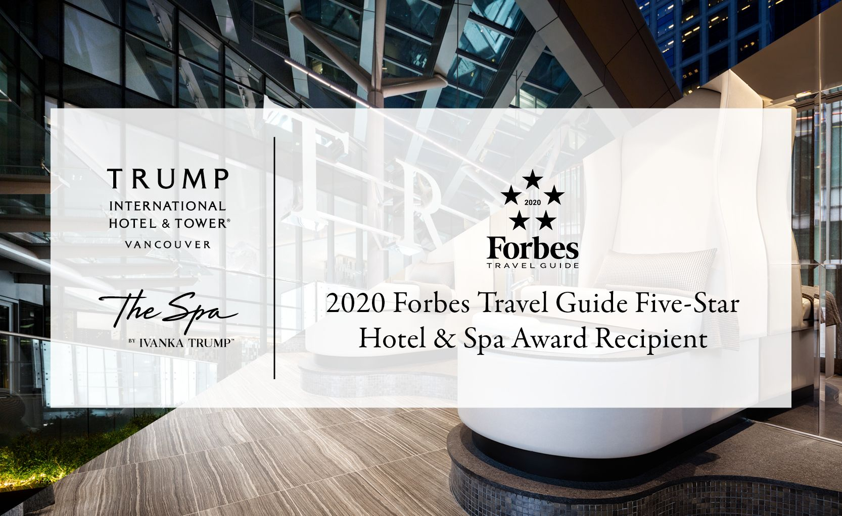 Vancouver The Spa by Ivanka Trump Forbes Ad