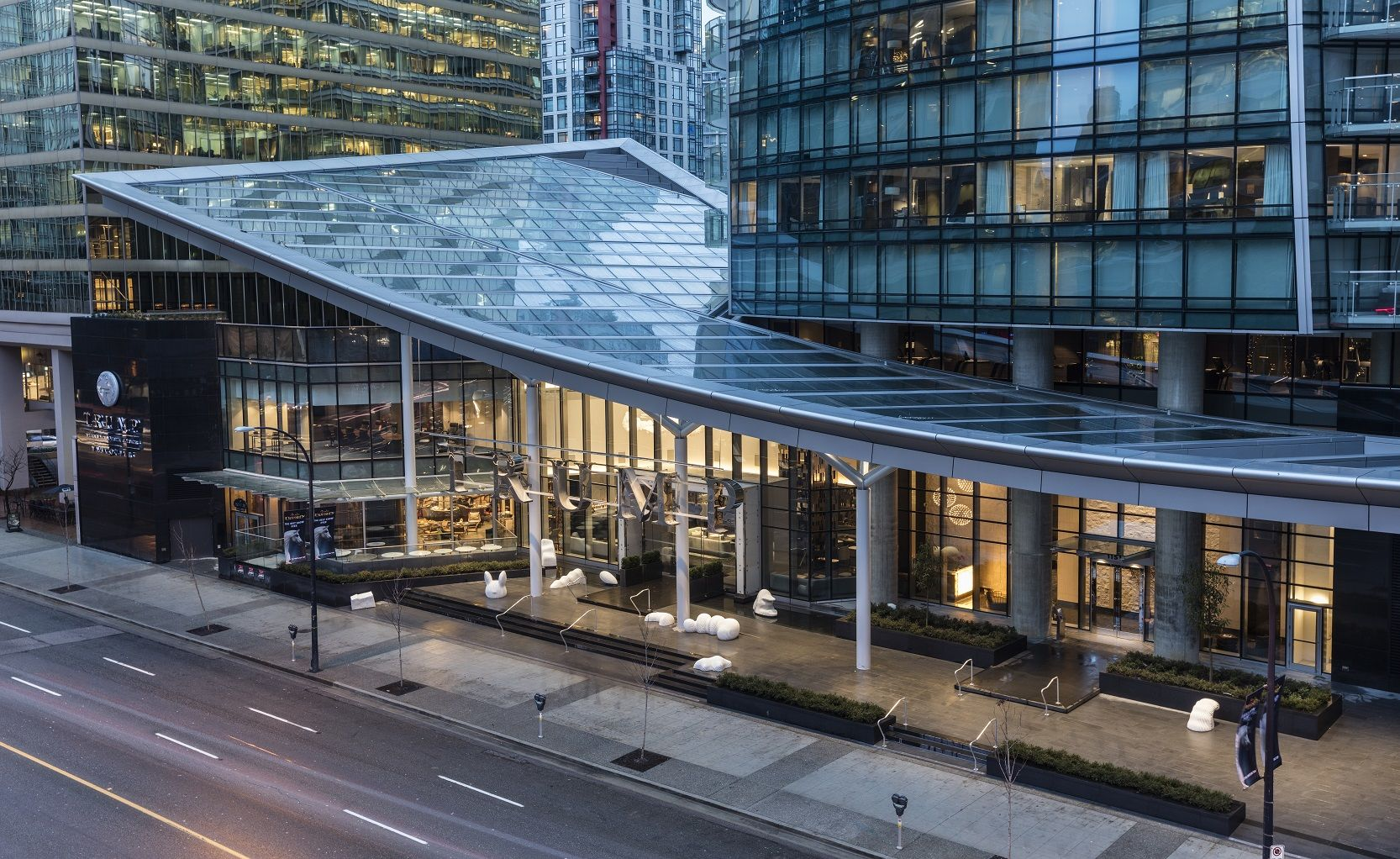 Trump Vancouver exterior