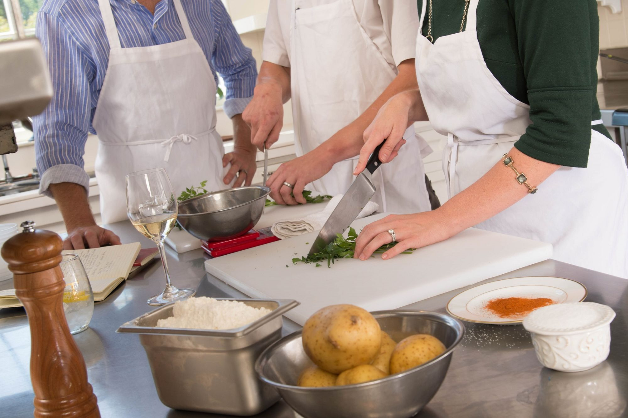 Trump Winery Cooking Class