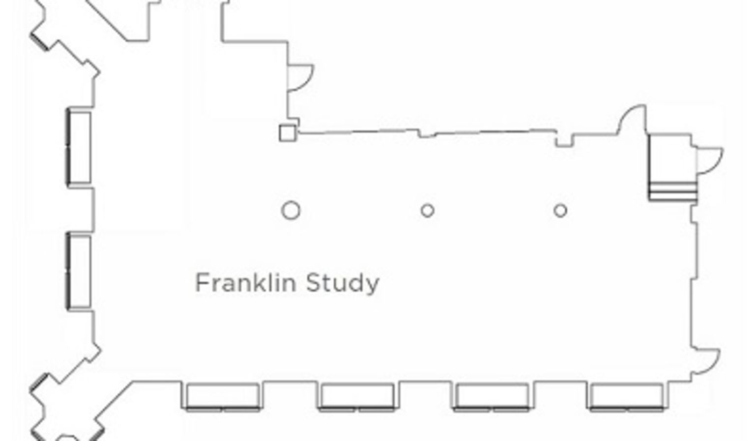 Franklin Study Floor Plan