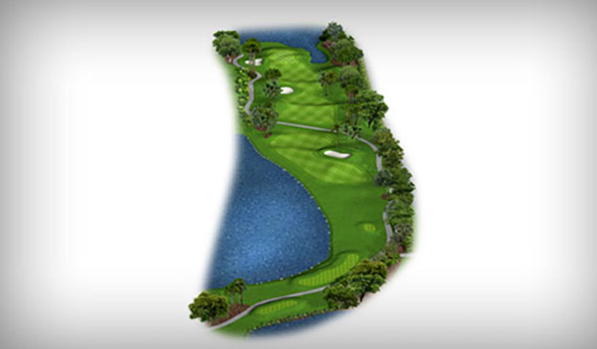 golf course fairway digital