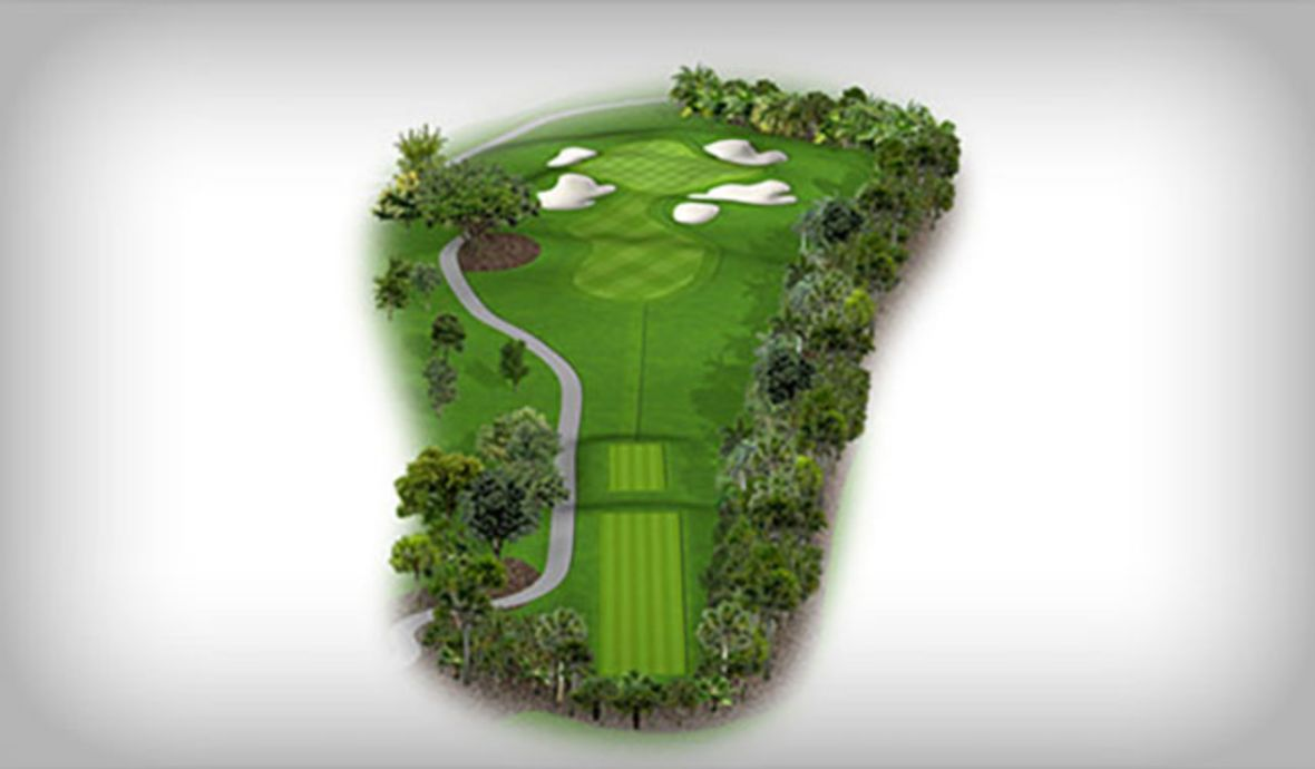 short golf fairway