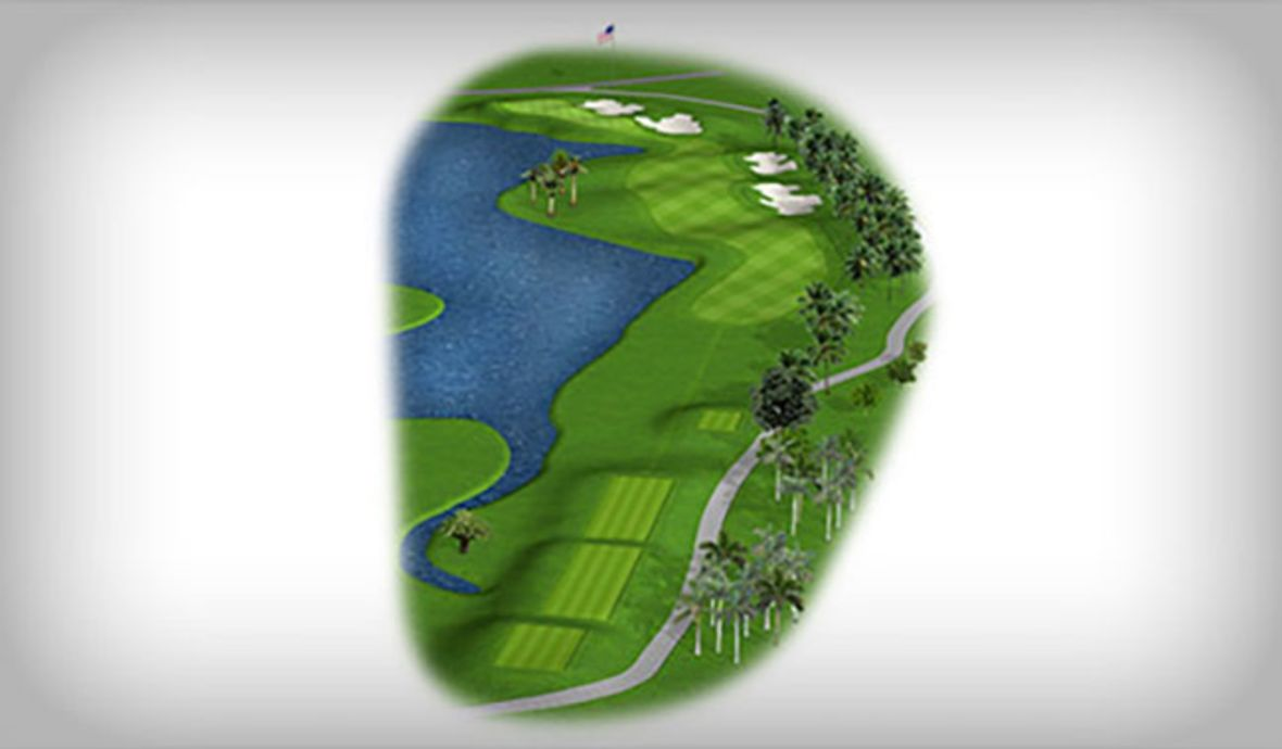golf course map fairway