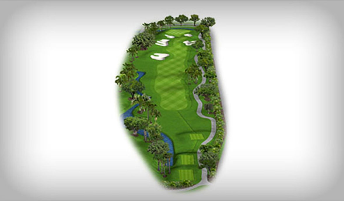 Trump Doral golf course map