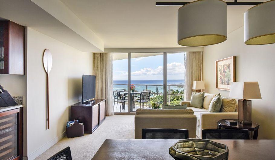 Trump Waikiki Suite Living Space
