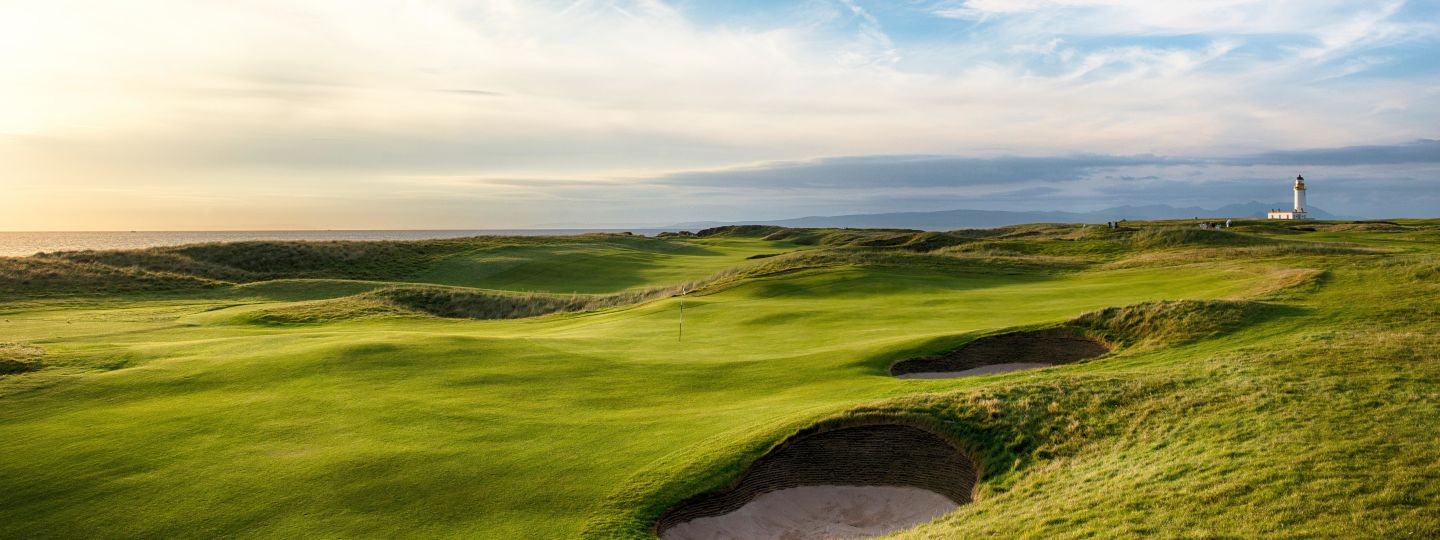 Gold Course in Turnberry