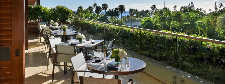 Wai'olu Ocean Cuisine Outdoor Dining View