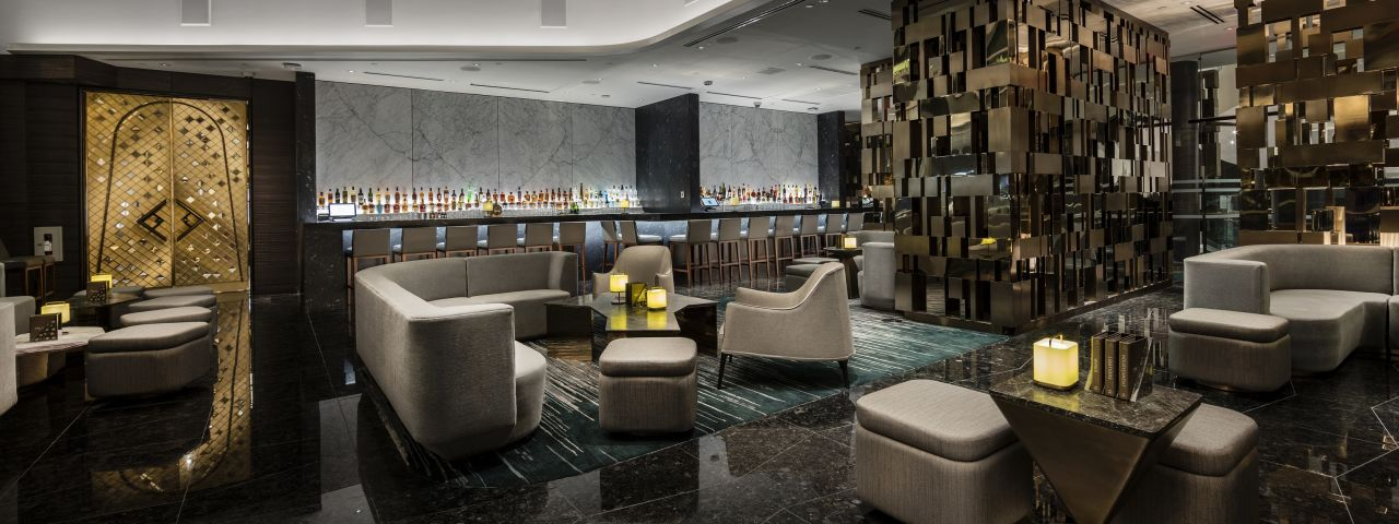 Trump Vancouver lobby bar