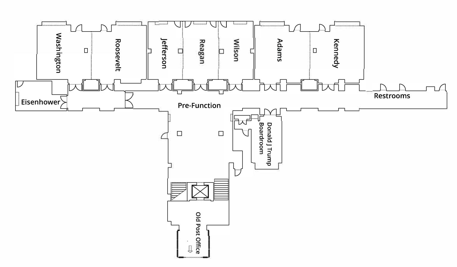Private Meeting Space Floor Plan