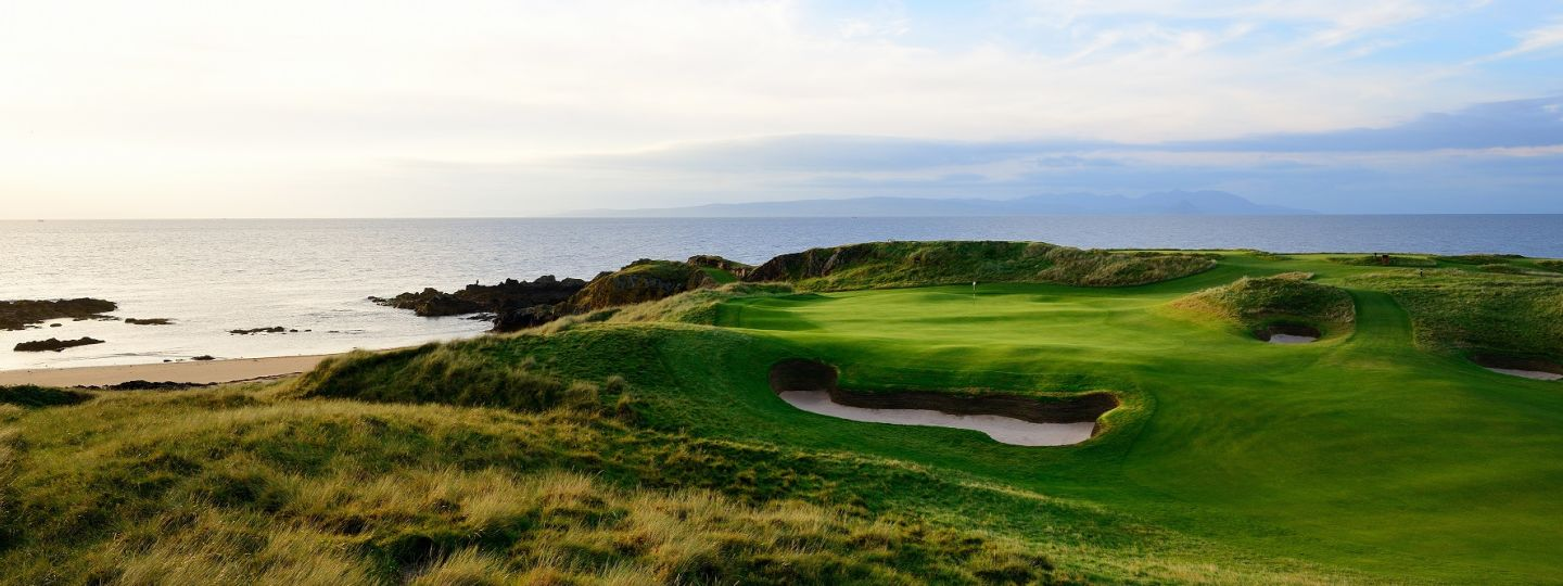 Golf Course and Ocean View