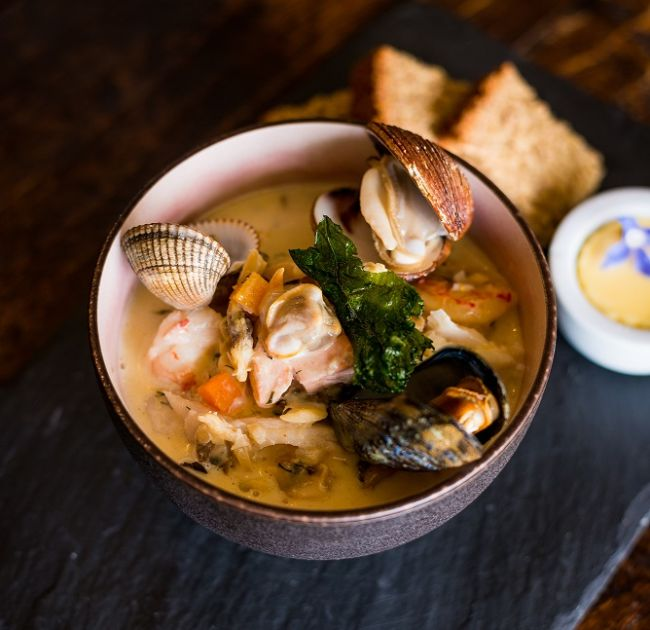 Seafood Dish at Doonbeg