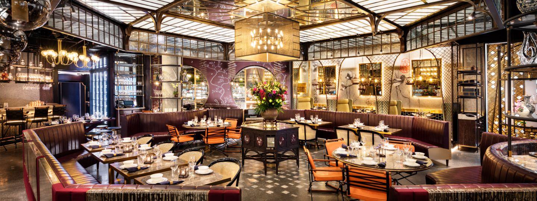 hotel restaurant fine dining area