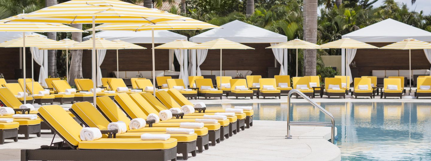 poolside chairs and lounges