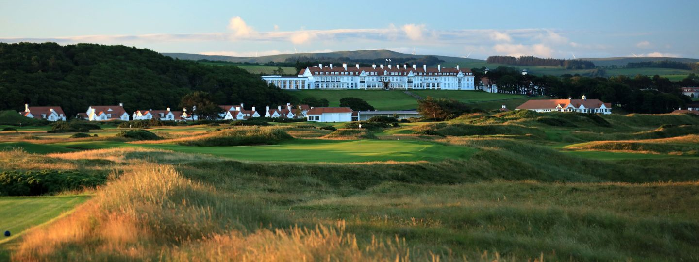 Golf Course in-front of Trump Turnberry