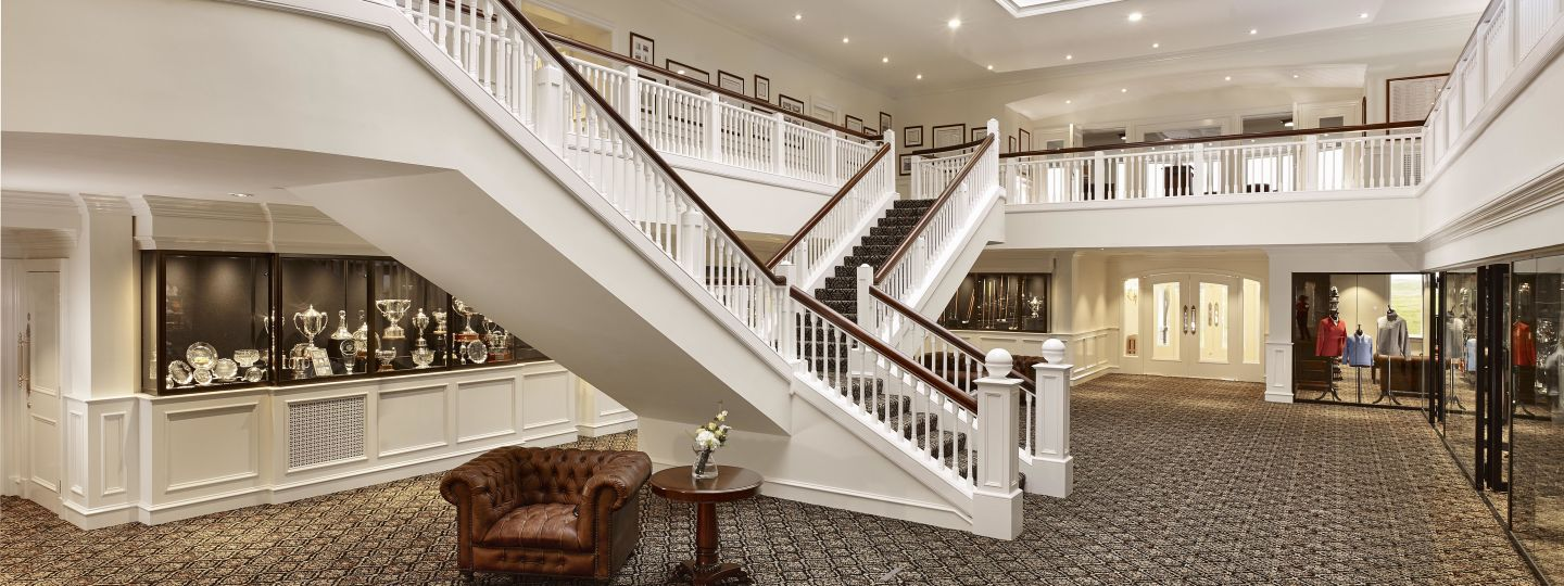 Trump Turnberry Lobby Staircase