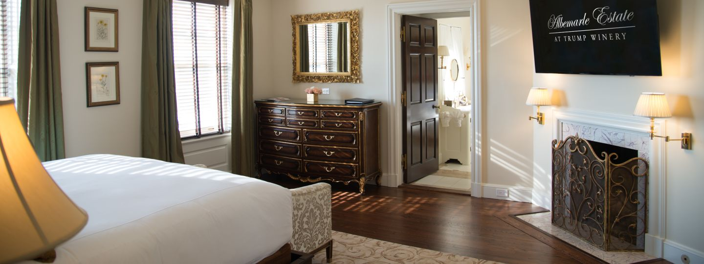 Virginia Winery Guest Room