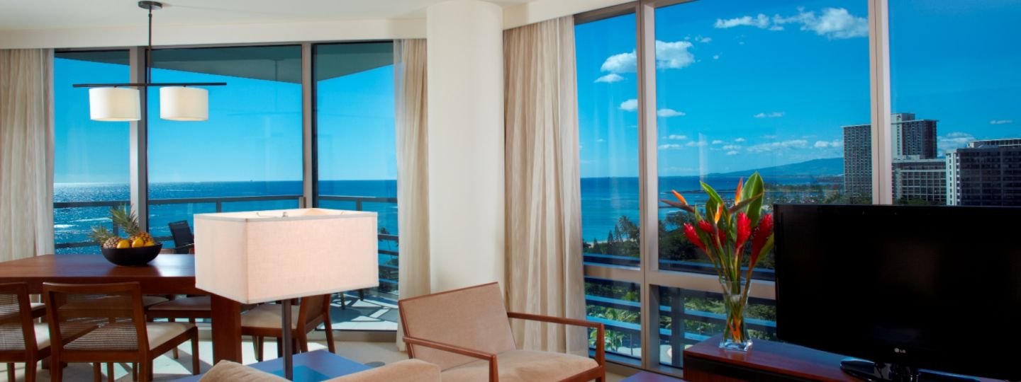Hotel Suite with Ocean Views