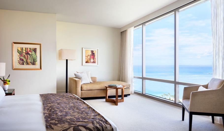 Waikiki Hotel Room with Ocean Views