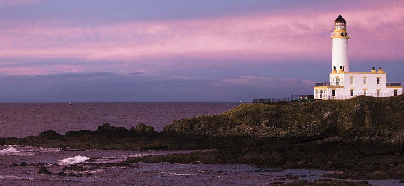 Trump Turnberry Lighthouse at Sunset