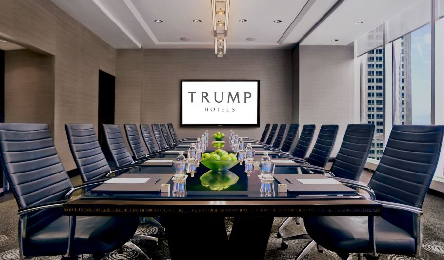 Trump Hotel Meeting Room