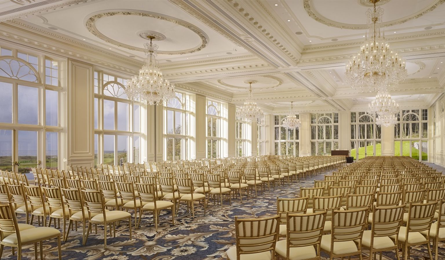 Trump Turnberry Ballroom with Chairs