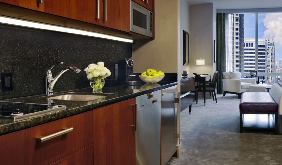 Hotel Suite Kitchen
