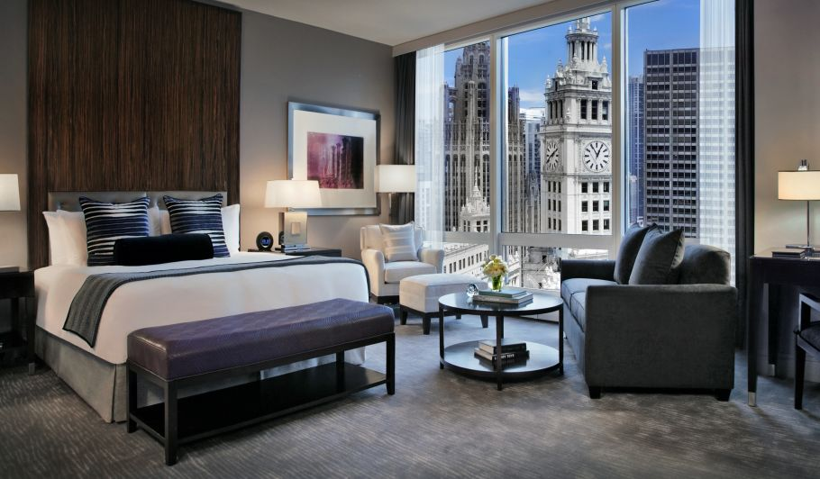 Hotel Room with City Views