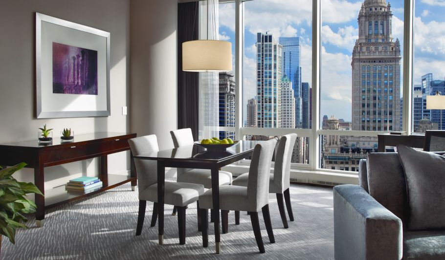 Hotel Suite Floor to Ceiling Windows