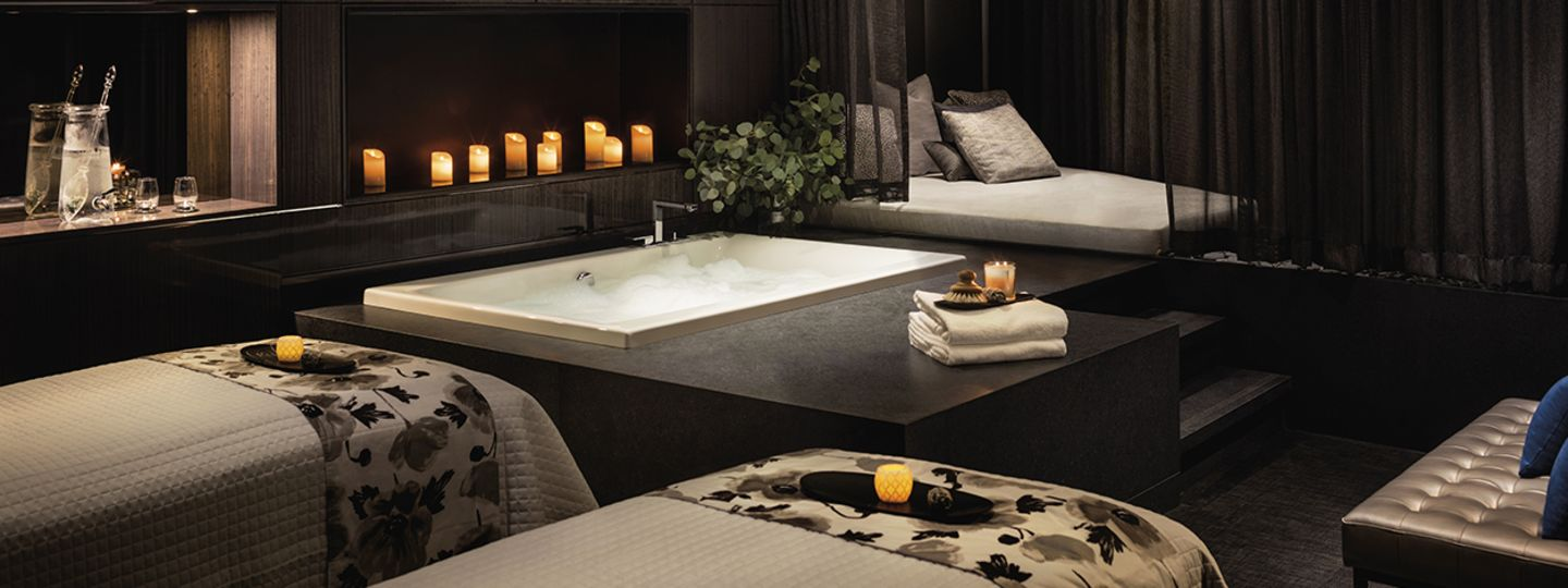 Vancouver Spa Relaxation Area