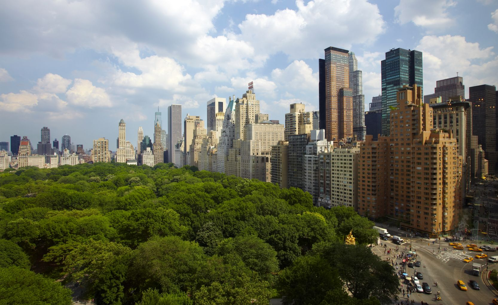 Hotels Overlooking Central Park Nyc