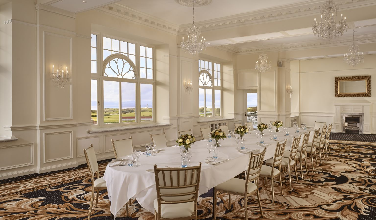 Event Venue with Dining Table