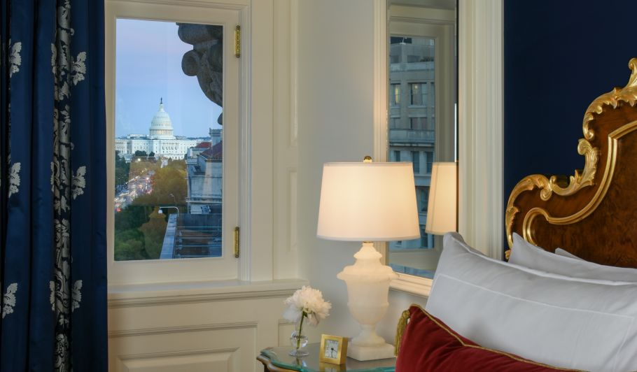 View of Capitol Building From Room