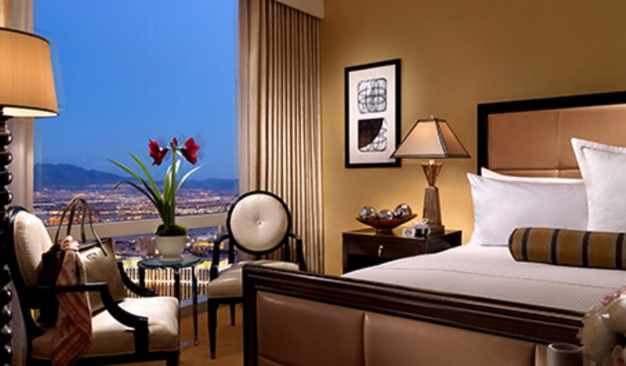 Hotel Room with Las Vegas City View