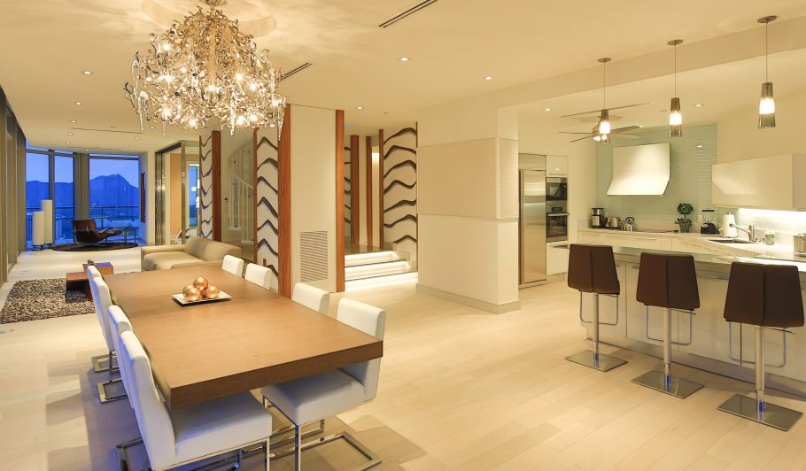 Luxury Hotel Suite Dining & Kitchen Areas