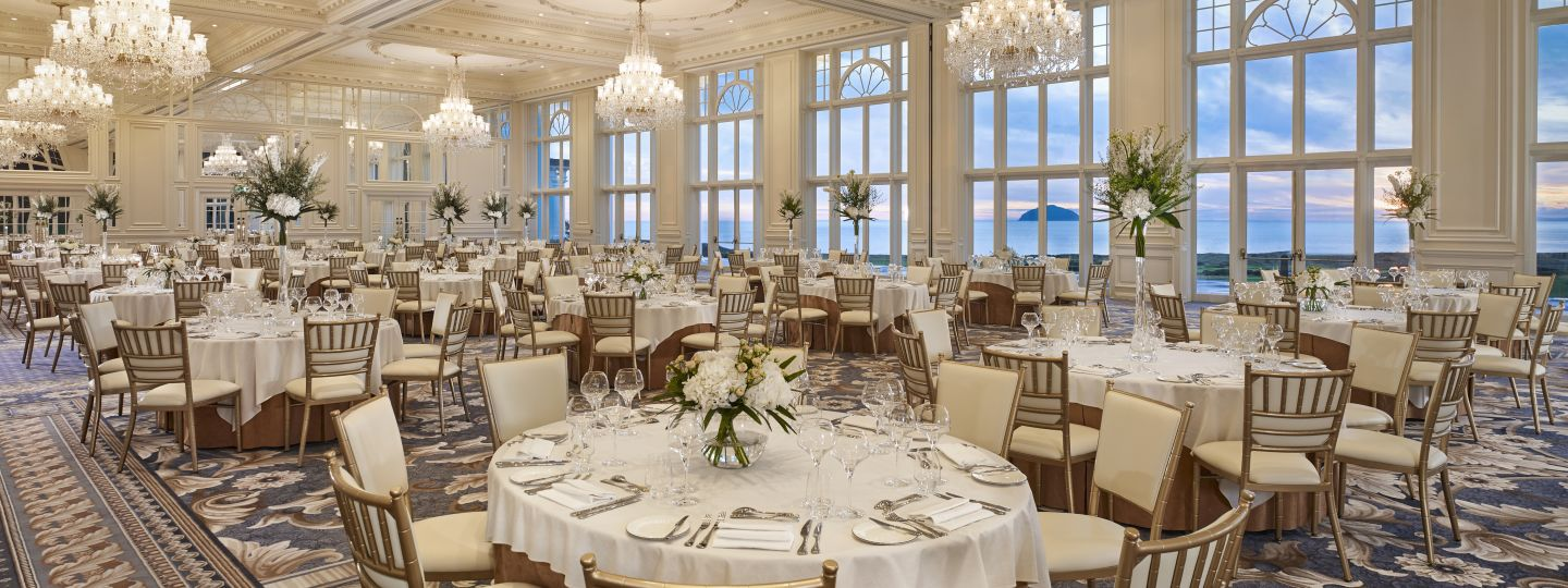 Trump turnberry luxurious event space