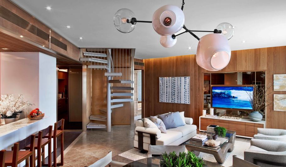 Luxury Loft Style Hotel Suite
