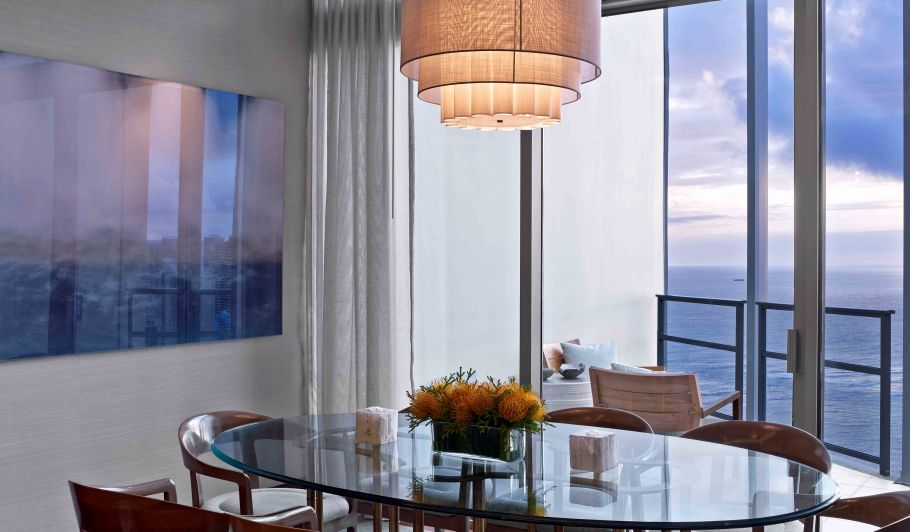 Luxury Hotel Room Dining Table