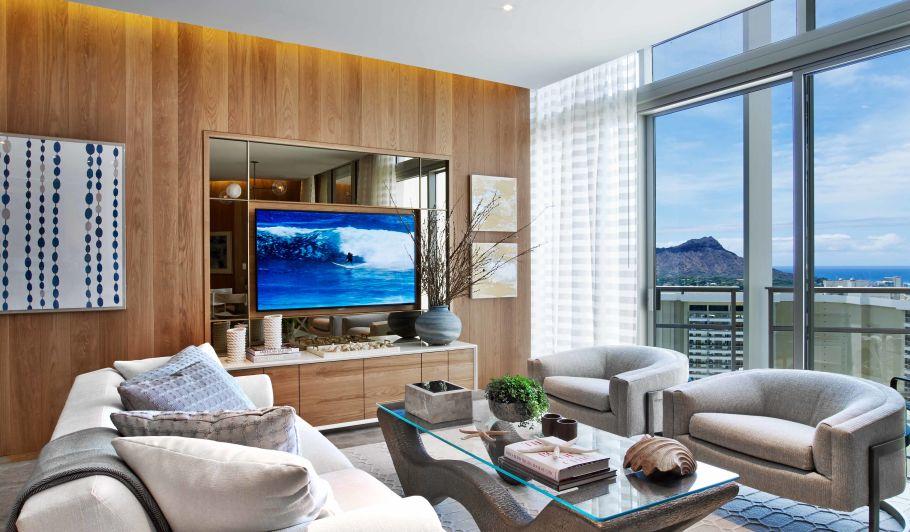 Luxury Hotel Suite with Ocean Views