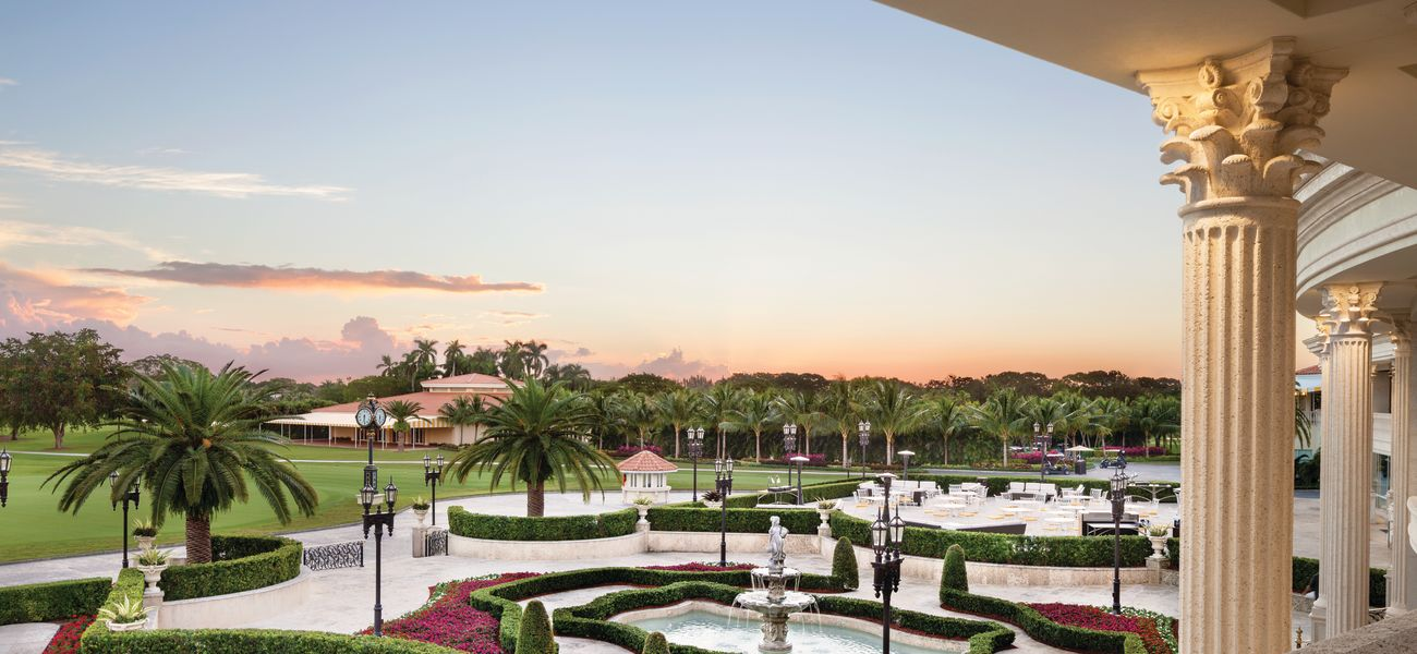 Dusk View of Trump Doral