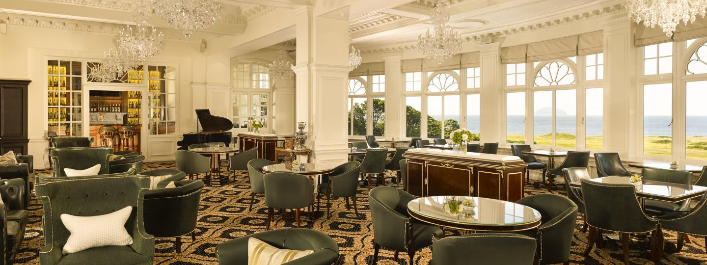trump turnberry dining room