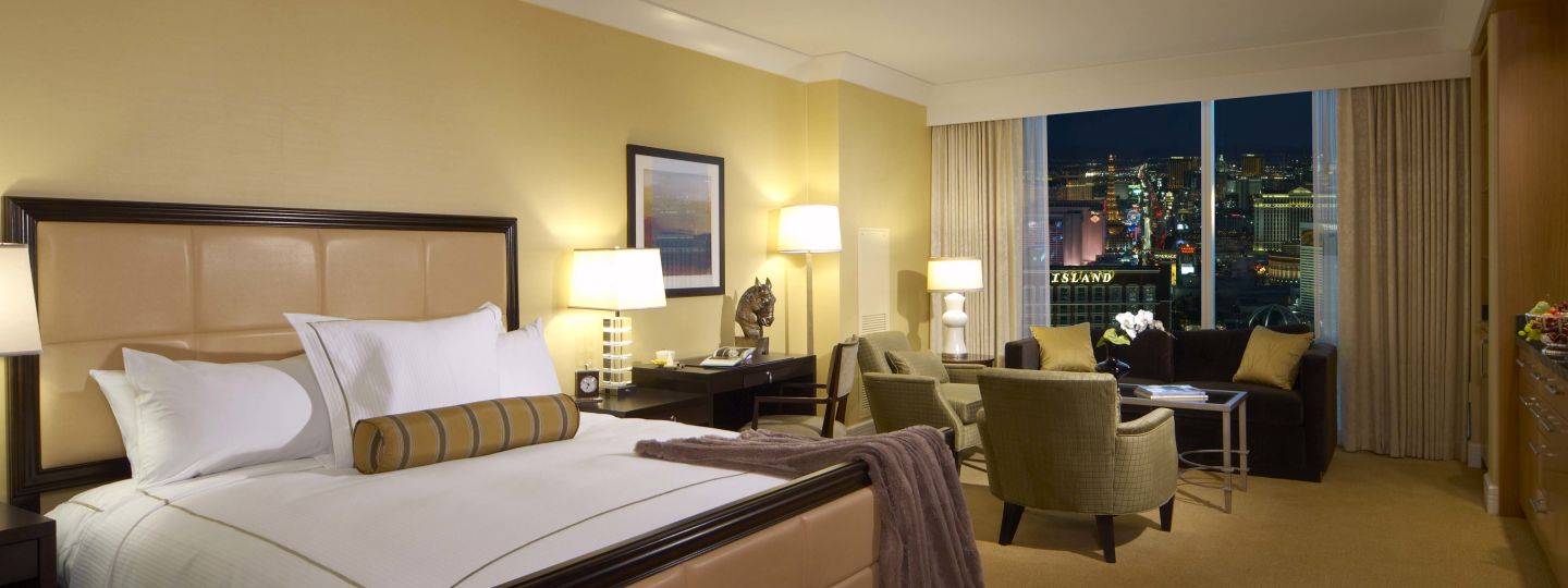 Hotel Room In Las Vegas Trump Las Vegas Guest Rooms