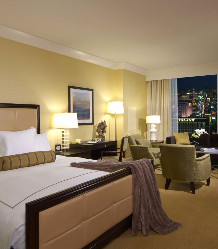 Hotel Rooms Suites In Las Vegas Trump Las Vegas Accommodations