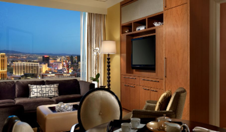 Las Vegas Hotel Room with City View