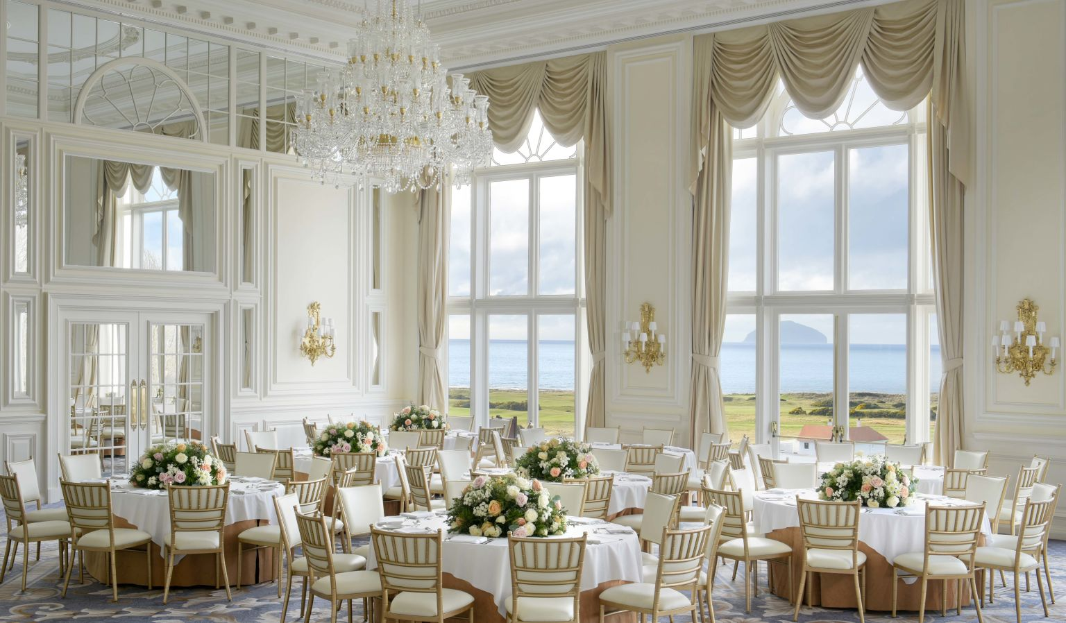 Event Room with Ocean Views