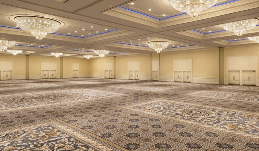 Large Ballroom with Chandeliers